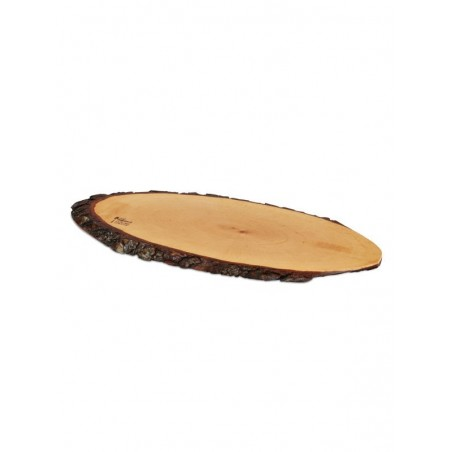 "BOSKA: TABLA TRONCO PARA QUESO ""M"" 40-45cm. BARK Ref.364045"